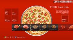 Encomendem Pizza pela Xbox 360.