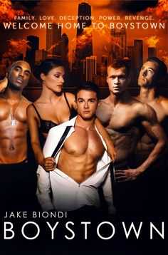 Family. Love, Deception. Power. Revenge.  There's no place like BOYSTOWN!  BoystownTheSeries.com  BOYSTOWN is available in AUTOGRAPHED paperback, audio book, and all e-book formats.