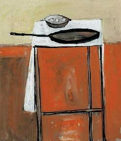 William Scott  Still Life with Frying Pan  1954