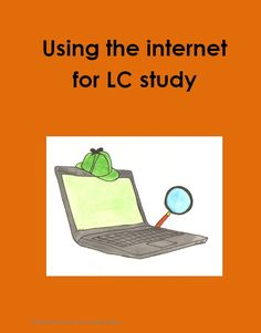 using internet for lc study