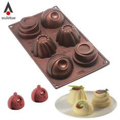 Cheap mold tool, Buy Quality for baking directly from China chocolate cake mold Suppliers: Wulekue Silicone 6 Hole Chocolate Cake Mold Tool For Baking Jelly Pudding Dessert Mousse Handmade Soap Frozen Ice