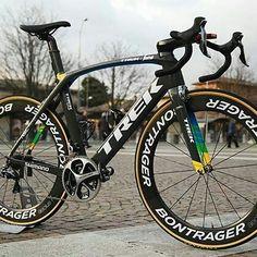 Fabian Cancellara's custom ProjectOne Madone for Milan-Sanremo