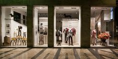 Harmont Blaine windows 2014 Fall, Milan – Italy » Retail Design Blog