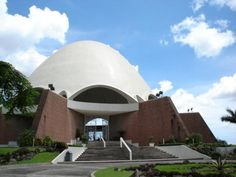 Baha'i Temple, Panama City, one of only 7 in the world. When the Chilean Temple is built there will be 8 standing Bahá'í Houses of Worship.