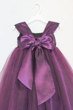 SasAndAsa on etsy.com by julianadesign Sale... Was USD 99.00 Now USD 69.00 - Beautiful Taffeta and Tulle Tutu Dress ... Flower Girl, Baby, Toddler, Birthday, Wedding