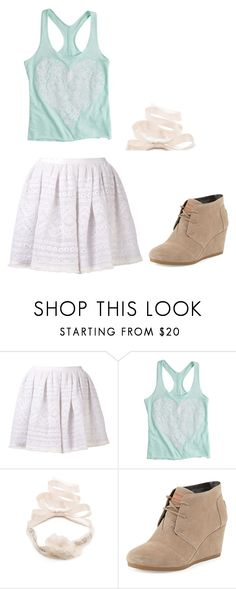 """Violetta 1 style"" by idapolyvore ❤ liked on Polyvore featuring Sea, New York, Reem Acra, TOMS, women's clothing, women, female, woman, misses and juniors"