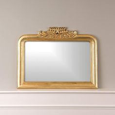 """Amazon.com: Best Home Fashion Oval Carved Mirror -Gold Finish Wood Frame - Wall Hanging - 28"""" Oval: Home & Kitchen Gold Frame Wall, Frames On Wall, Framed Wall, Contemporary Wall Mirrors, Modern Contemporary, Gold Ornate Mirror, Mirror Mirror, Gold Mirrors, Wedding Mirror"""