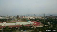 Neblina sobre #Murcia. Visto desde la #Facultad de #Economía y #Empresa de @umnoticias.