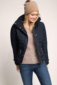 Esprit : Veste matelassée nylon, duvet et plumes à acheter sur la Boutique en ligne