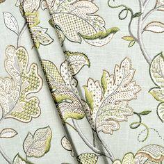 AM Dolce Vita: Current Obsession: Jacobean Fabrics