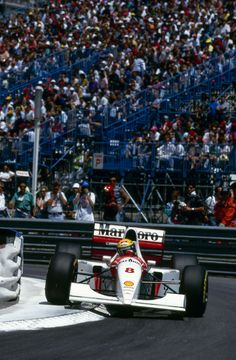 Ayrton Senna/McLaren MP4-8/Monaco/1993