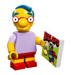 The Simpsons Milhouse van Houten Lego minifigure