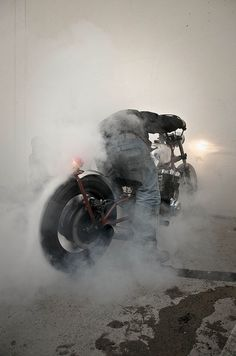 burning rubber... #motorcycle #motorbike