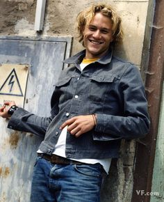 Heath Ledger. Loved him for his acting in the Patriot. Fantastic movie.