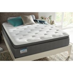 Beautysleep North Star Bay Cal King Luxury Firm Pillow Top Low Profile Mattress Set Sets