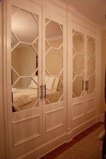 Built In Mirrored Closet Doors