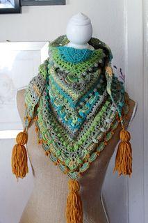 Free pattern, fingering yarn, multi stitches.
