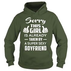 Boyfriend Sorry This Girl Is Already Taken By A Boyfriend, Order HERE ==> https://www.sunfrog.com/LifeStyle/125427161-728362030.html?6432, Please tag & share with your friends who would love it,cycling photography, archery drawing, archery hunting#jeepsafari, #holidays, #events  #legging #shirts #ideas #popular #shop #goat #sheep #dogs #cats #elephant #pets #art #cars #motorcycles #celebrities #DIY #crafts #design #food #drink #gardening #geek #hair #beauty #health #fitness