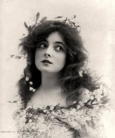 "Marie Doro - ""She was so devastatingly beautiful that I resented her.""- Charlie Chaplin."