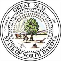 North Dakota state seal - click to see all state seals
