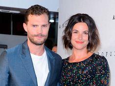 Jamie Dornan with wife Amelia Warner