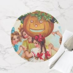 #Vintage Halloween kids party cake stand - #Halloween happy halloween #festival #party #holiday