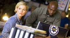 Taye Diggs, Kathleen Robertson in TNT's Murder in the First