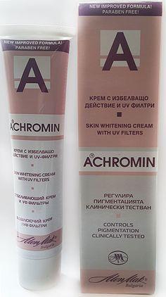 Ахромин купить крем отбеливающий от пигментных пятен цена фото
