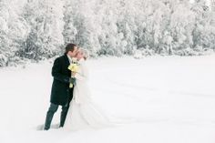 Winter wedding in Arctic SnowHotel in Rovaniemi in Finnish Lapland