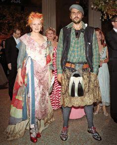 Vivienne Westwood and Andreas Kronthaler
