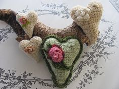 By The Bay Needleart: Free Crochet Heart Directions Are Here