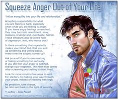 Squeeze anger out of your Life