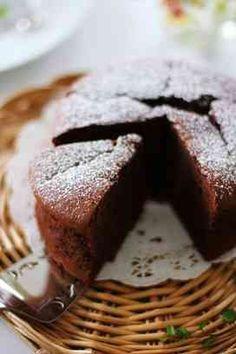 ふんわり口どけガトーショコラ バレンタインデーに❤ チョコ好きさんに❤ 初めはふんわり・・次の日はしっとり・・