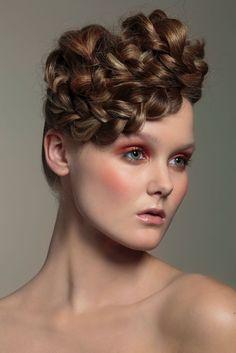 "Jolie fall look 2013 ""La Belle Époque"". Make up: Katja Kokko, hair: Sanna Liljamo, photo: Paavo Lehtonen, model: Linnea/Paparazzi"