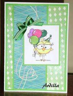 Ardilla's Papers: Green Bird-thday