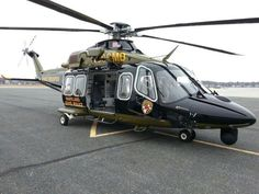 One of two new AW 139s for Maryland State Police Aviation <3