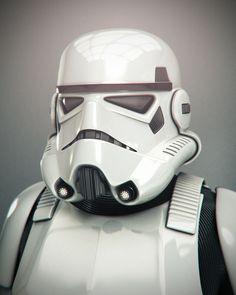 Star Wars: Stormtrooper UI Sequence – Baz Pringle, Ltd. Imperial Stormtrooper, Star Wars Pictures, Clone Trooper, Star Wars Art, Pop Culture, Storm Troopers, Military, Stars, Dark Side