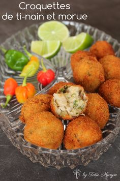 Les Croquettes, New Orleans Recipes, Haitian Food Recipes, Gluten, Caribbean Recipes, American Food, Finger Foods, Love Food, Entrees