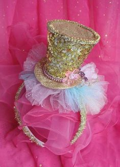 You have to have a great hat for an Alice in Wonderland Party!  You don't want to be shown up by the Mad Hatter!