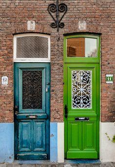 doors ~ Bruges, Flanders, Belgium   ..rh