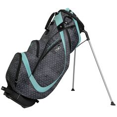 Ogio Featherlite Luxe Women's Golf Stand Bag - Polka Dot Mint #Ogio