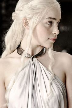 Khaleesi dress using slave collar