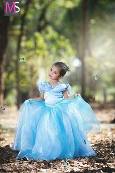 Cinderella photoshoot for kids