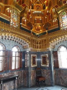 Arab Room at Cardiff Castle designed by William Burges
