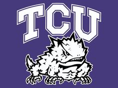 TCU Horned Frogs Clipart - Free Clipart
