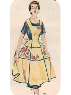 """Apron Blessings ~Have A Blessed Day~ """"Old Fashion Vintage Farmer's Wife"""""""