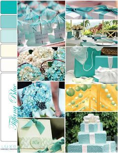 Tiffany Blue Party and Reception