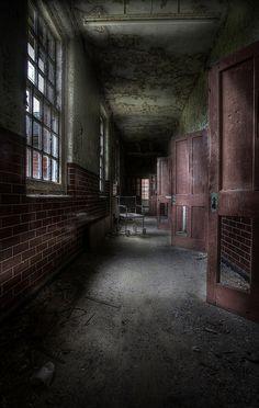 Abandoned sanatorium by andre govia., via Flickr