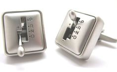 """Functional Gear Shift Cufflinks Cuff Links Car Racing Moves Transportation Automotive Race C1 DGW Cufflinks. $49.95. Functional, Really Moves. Comes packaged in a Limited Edition Collectors Storage Box!. Approximately 3/4"""" x 1/2"""". Free Gift Wrapping with each order!. Functional Gear Shift Cufflinks Cuff Links Car Racing Moves Transportation Automotive Race C1"""