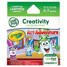 Leapfrog Crayola Art Adventure Learning Game, 2015 Amazon Top Rated Electronic #Toy